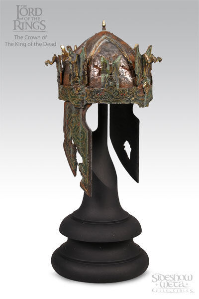 LOTR~KING OF THE DEAD~CROWN~SCALED PROP REPLICA~LE  64 / 4000~SIDESHOW~WETA~MIB