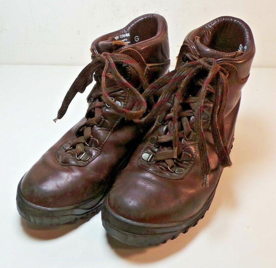 per poco costoso Vasque Uomo Marrone Leather Hiking stivali Laces Waterproof Waterproof Waterproof scarpe Dimensione 7M Gore-Tex  buona qualità