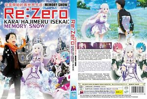 Re Zero Starting Life In Another World Memory Snow Movie All Region New 9555652704840 Ebay