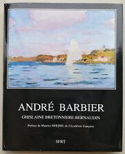 André Barbier (1883-1970), Préface Maurice Rheins (Français / Anglais)