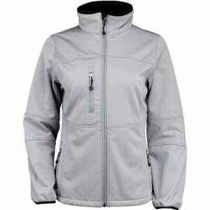 River-039-s-End-Soft-Shell-Jacket-Womens-Athletic-Jacket-Lightweigh-Grey-Size