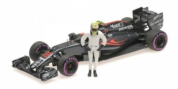 McLaren mp4-31 no. 22 GP Abu Dhabi  Formula 1 2016 with Jenson Button figurine  achats en ligne de sport