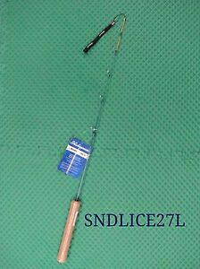 Shakespeare noodle ice 27 light spinning rod sndlice27l for Ice fishing noodle rod