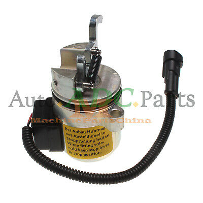 labwork New Fuel Shut Off Solenoid Fit for DEUTZ 1011 2011 04287583 /& 04287116