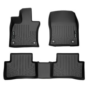 All Models SMARTLINER All Weather Custom Fit Floor Mats 1st Row Liner Set Black for 2019-2020 Lexus UX