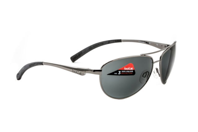 e52c013984 Bolle Sunglasses Columbus Shiny Gunmetal Aviator TNS 11796 - AUTHORIZED  DEALER