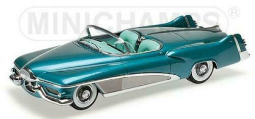 1 18 Minichamps 107141232 1951 buick Sabre concept turquesa metalizado