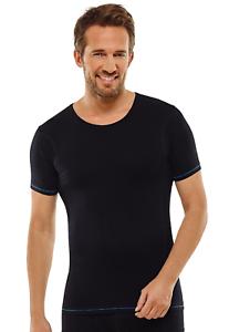 Schiesser Uomo semless attivamente Shirt Funzione biancheria T-Shirt Sotto Camicia Taglia 4-8
