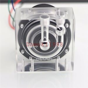 olike3c acrylic gap 1 4g high flow for d5 pump water cooling no