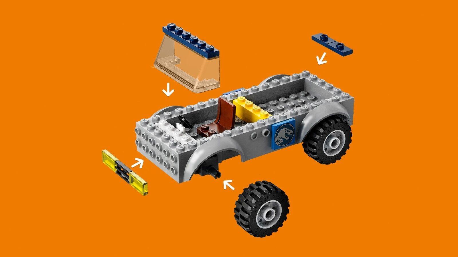 LEGO® Juniors Juniors Juniors 10757 Raptoren Rettungstransporter NEU OVP NEW MISB NRFB a2e5b1