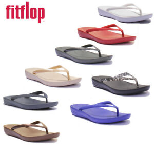 e723b63a7 Image is loading Fitflop-Iqushion-Super-Ergonomic-Men-Rubber-Navy-Sandals-