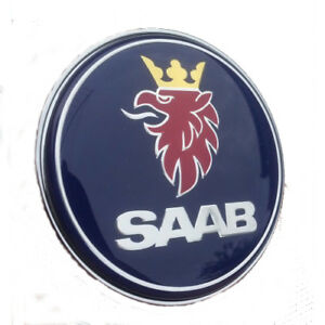 SAAB-9-3-9000-900-RESIN-DOMED-BONNET-BADGE-BRAND-NEW-PART-4522884