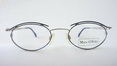 Marche Occhiali Telai Ovali Gläeser 47-19 Blu/grigio Occhiali Versione Circa Taglia M- Ampie Varietà