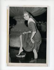 Christine Dancour, Muse des poètes Vintage silver Print Tirage argentique  1