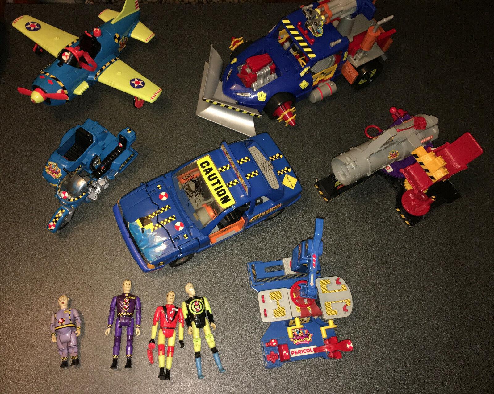 Crash Dummies Big Lot, READ DESCRIPTION, Junkbots, Car, Sbullonati, Sbullonacci