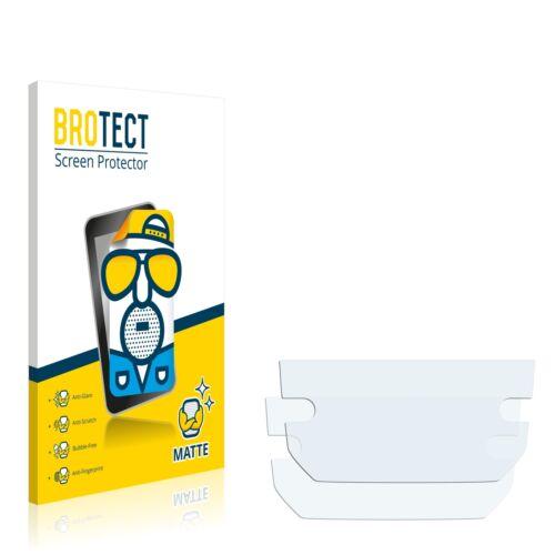 """2x protector de pantalla mate seat media System pro 8/"""" Ibiza lámina protectora"""
