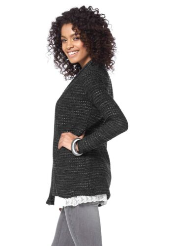 ANTRACITE Long-Cardigan BOYSENS Kp 69,99 € SALE/%/%/% NUOVO!!