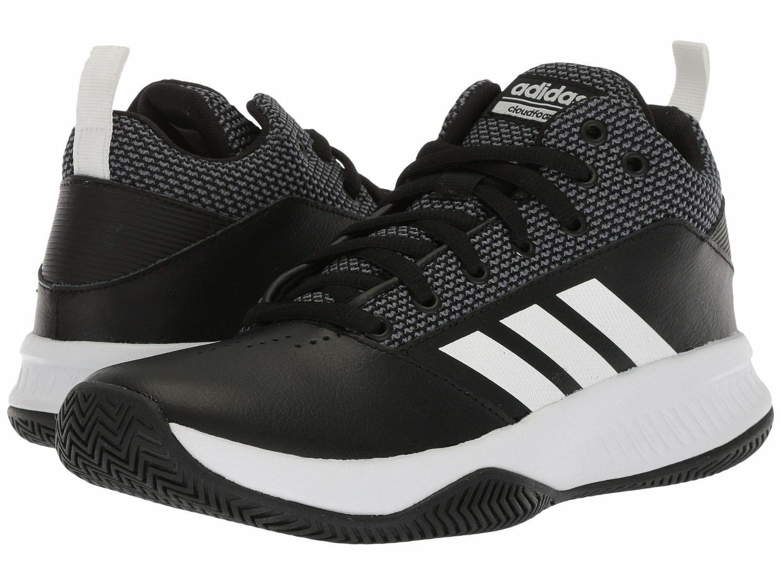 Men Adidas ILation 2.0 Basketball shoes DA9847 Black White Grey 100% Authentic