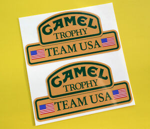 CAMEL TROPHY Team USA 4X4 OFF ROAD STICKERS DECALS Land Rover Defender