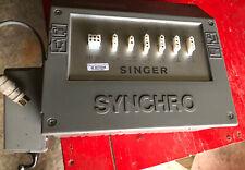 Singer Synchro Industrial Sewing Machine Servo Motor Control