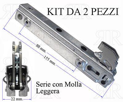 KIT 2 CERNIERE PORTA FORNO NARDI 17 x 23 CM KCF3694