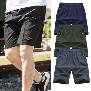 Men-039-s-Gym-Training-Shorts-Workout-Sports-Casual-Clothing-Fitness-Running-Shorts
