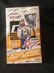 2021 Panini Donruss Racing Hobby Box Factory Sealed-Nascar
