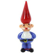 Genuine Handmade  Spun Glass ~Gnome~Figure~Ornament~Boxed~uk seller