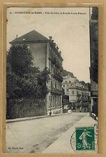 Cpa Plombières les Bains - villa Barbelin et avenue Louis Français wn1114