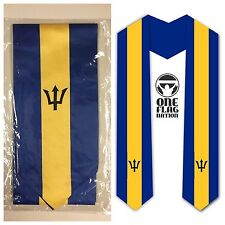 Graduation Stole / Sash - Barbados Flag