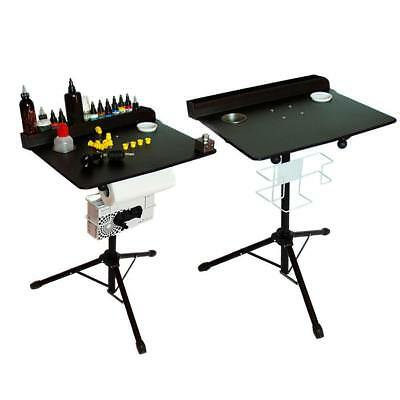 Portable Tattoo workstation Display Stand - Compact stand ready to travel Por