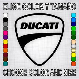 Vinilo-adhesivo-DUCATI-pegatina-autocollant-logo-moto-escudo-decal