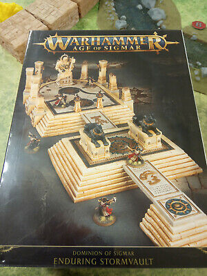 Nueva Moda Warhammer Age Of Sigmar Dominion Of Sigmar Enduring Stormvault - New And Sealed