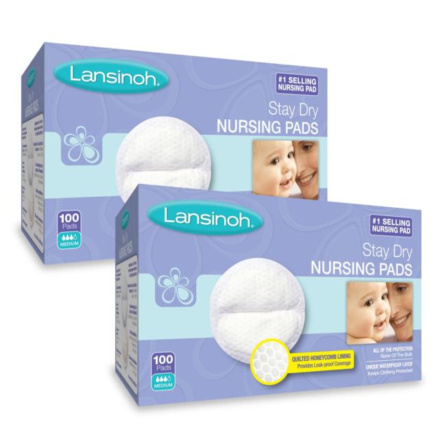 2 Pack Lansinoh Disposable Nursing Pads 60 Pads