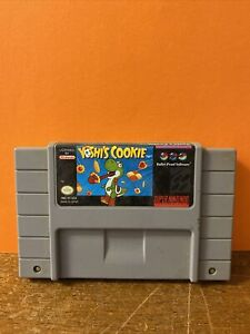 Yoshi's Cookie (Super Nintendo Entertainment System)(SNES)(Tested)