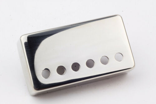 """PAF Vintage Humbucker Cover /""""Area59/"""" authentic shape Nickel plated 49,2mm"""
