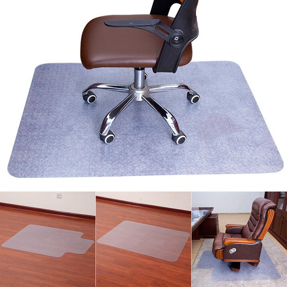 Home Office Desk Chair Wood Floors Mat Frosted Pvc Plastic None Slip 153x117cm For Sale Ebay