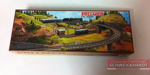 Vollmer 4507-barro-rampa de acceso-puente para Märklin metal vía-embalaje original y nuevo