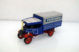 Matchbox-1-43-y-27-FODEN-034-C-034-type-steam-wagon-Pickford-Model-of-Yesteryear
