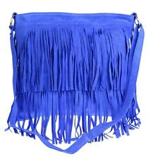 7a6257f683f1 item 1 Large Genuine Suede Shoulder Bag Tassel Crossbody Womens Designer  Slouch Fringe -Large Genuine Suede Shoulder Bag Tassel Crossbody Womens  Designer ...