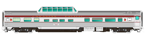 Rapido 1 87 Ho Canadian Pacific Budd Mid-Tren Dome coche Artículo Nº 116015 F S
