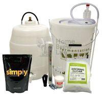 Simply Starter Home Brew Kit With Keg Beer Kits - Full Range