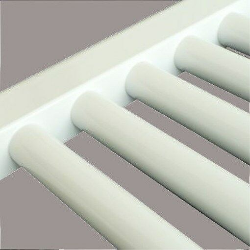 600mm Straight Weiß Heated Towel Rails   Radiators, 25mm