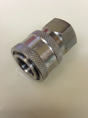 Pressure Washer 8.707-135.0 Stainless Quick Coupler W//Plug 3//8 Socket  6000 psi