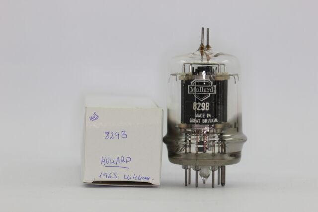 829-B TUBE. MULLARD BRAND TUBE. 1965´S. PRODUCED IN MITCHAM.  NOS TUBE. RCB53.