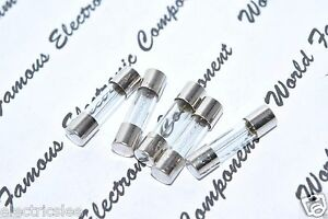 For Audio 2.5A 250V 5x20mm Fast-Blow Ceramic Fuse 5pcs LITTELFUSE // LF F