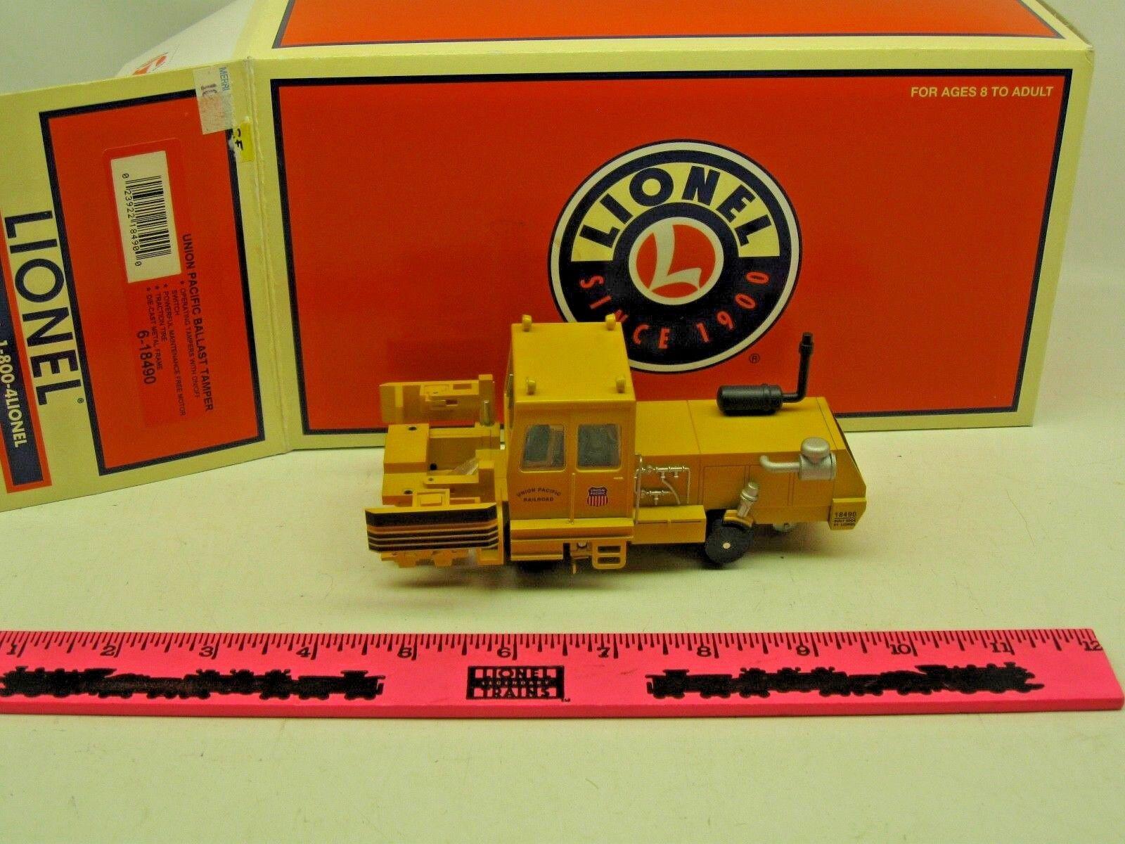 Lionel  6-18490 Union Pacific Ballast Tamper