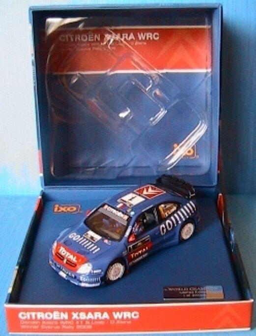CITROEN XSARA WRC LOEB daniel ELENA WINNER WINNER WINNER CYPRUS RALLY 2006 IXO 1 43 RAM270 f678f4