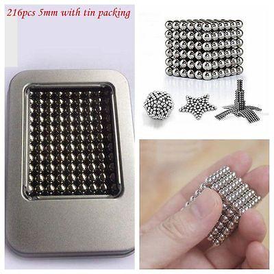 216pcs 5mm Mini Spherical Magnet DIY Ball Ideal for Household/Decorative Purpose
