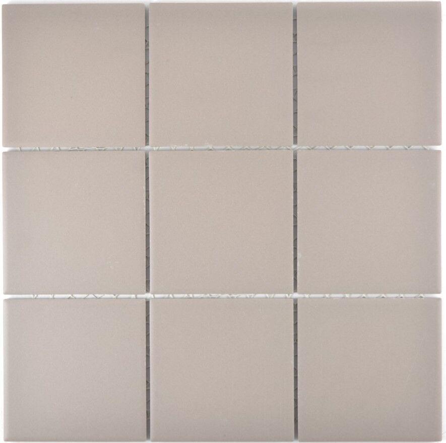 Mosaik Fliese Keramik hellgrau  rutschhemmend Dusche  |22-1202_f |10 Matten
